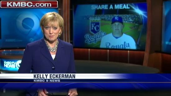 Royals' Billy Butler, teammates help fight hunger