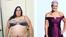 Woman loses astonishing amount of weight after being told she could die at 40