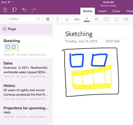 Microsoft combines OneNote for iPhone and iPad, updates Android app too