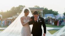 First look at Priyanka Chopra's sheer Ralph Lauren wedding dress - and 75-foot veil