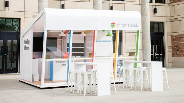 Google lets college students borrow a Chromebook