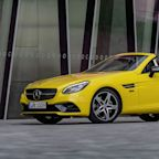 Mercedes-Benz Says Goodbye to the SLC (and SLK) Roadster with a Final Edition