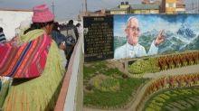 Pope Francis, Meet Bolivia's Pachamama