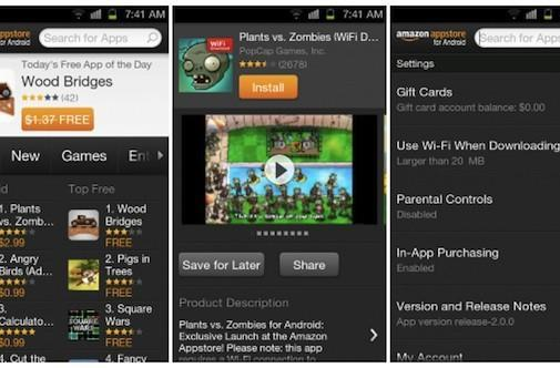 Amazon Appstore for Android gets a Kindle Fire-inspired facelift