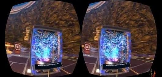 Oculus Rift tech demo Museum of the Microstar is full of particles