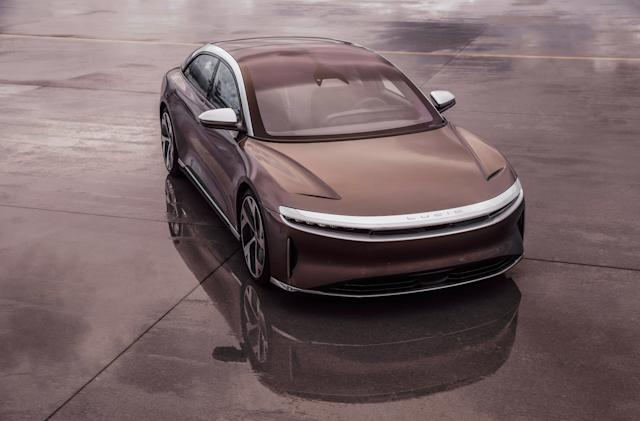 For Lucid's Air EV sedan, performance and prestige come at a price
