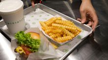 A massive short squeeze in Shake Shack is sending shares soaring