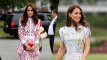 The Duchess of Cambridge'sCanada tour style: 2011 versus now