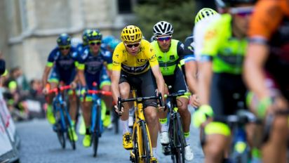Cycling's Froome targets historic double on Contador's farewell