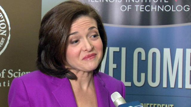 Sheryl Sandberg reaches students in Chicago