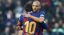 Barça, Braithwaite aurait demandé à porter le 10 de Messi