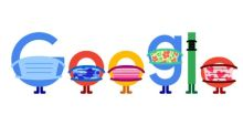 Coronavirus: Google Doodle calls on people to 'wear a mask' and 'save lives'