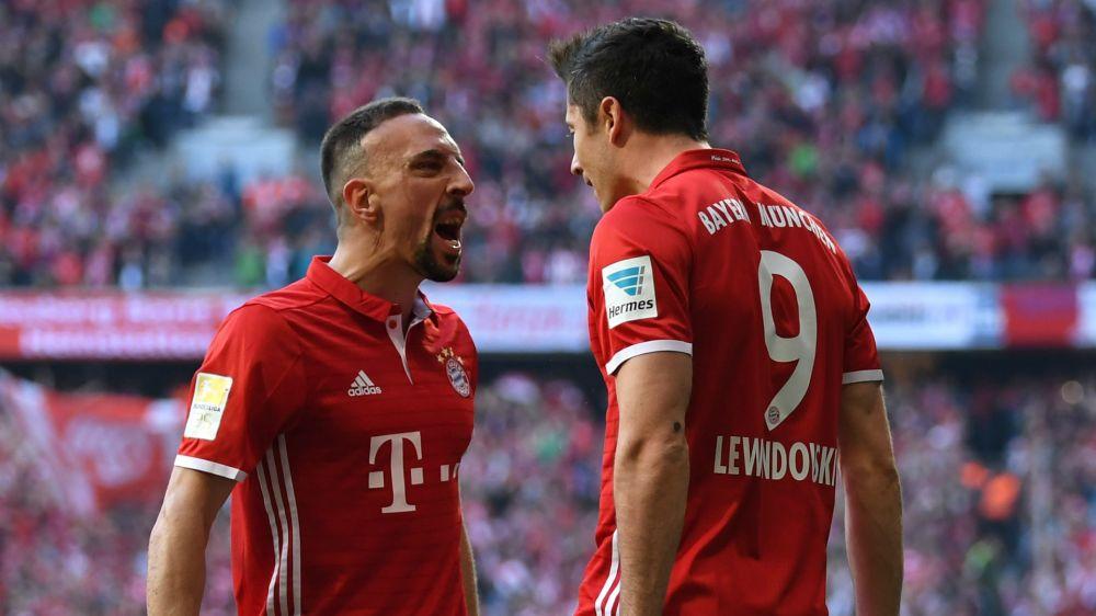 Bayern-Dortmund (4-1), le Bayern surclasse Dortmund