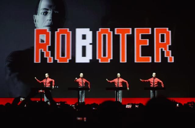 Kraftwerk takes techno pop into the third dimension
