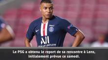 Ligue 1 - Le match Lens-PSG reporté