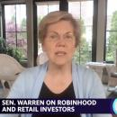 Robinhood deserves 'close look' from SEC: Warren