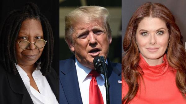 Whoopi Goldberg slams Debra Messing over Trump list