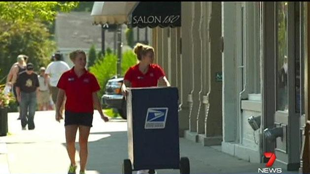 Mail delivery turned tourist attraction