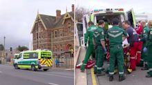 Boy, 9, fighting for his life after freak accident at school