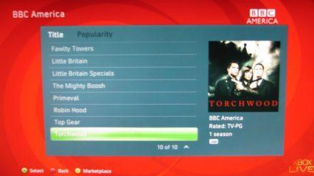 BBC Worldwide content coming to U.S. Xbox Live, Zune Marketplace