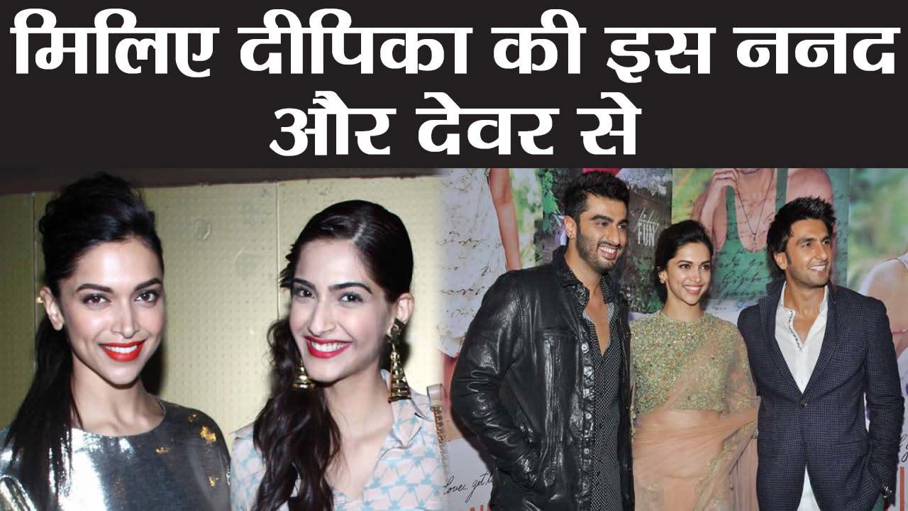 Deepika & Ranveer Wedding: Sonam Kapoor & Arjun Kapoor are ...