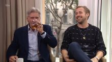 Ryan Gosling and Harrison Ford were driven to drink during off-the-rails interview