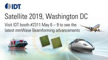 IDT to Showcase Latest Satcom Phased-Array Beamforming Solutions at Satellite 2019