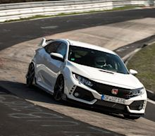 Watch the 2017 Honda Civic Type R Set a New FWD Nurburgring Lap Record