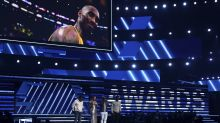 At home of the Lakers, Grammys ceremony opens with moving tribute to Kobe Bryant