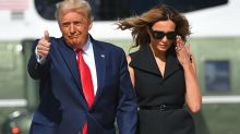 Psychic predicts 'upheaval' for Donald and Melania Trump