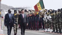 Chinese leader arrives for Africa visit as US interest wanes