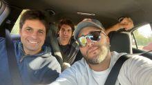 El reencuentro entre Francisco, Cayetano y Kiko Rivera: ¿paripé máximo o amor de hermanos?