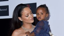 Rihanna's baby cousin Majesty has mastered the art of liquid eyeliner