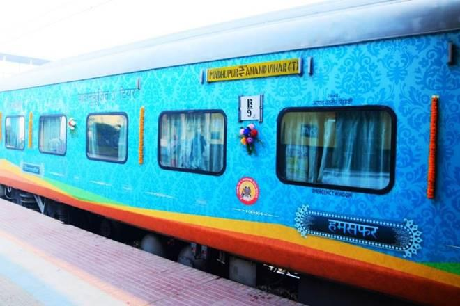 Indian Railways starts new Humsafar Express and weekly superfast train services between Madhupur and Delhi