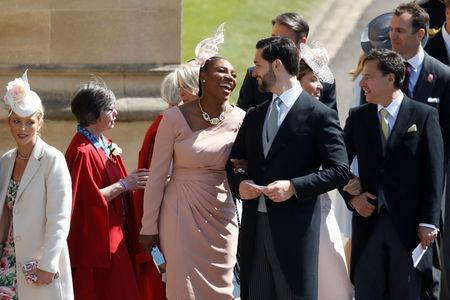 Queen of tennis Serena Williams preps for royal wedding