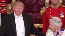 Donald Trump Put His Hand on Queen Elizabeth's Back at State Banquet: Did He Break Protocol?
