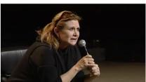 Carrie Fisher Discusses 'Star Wars' Diet