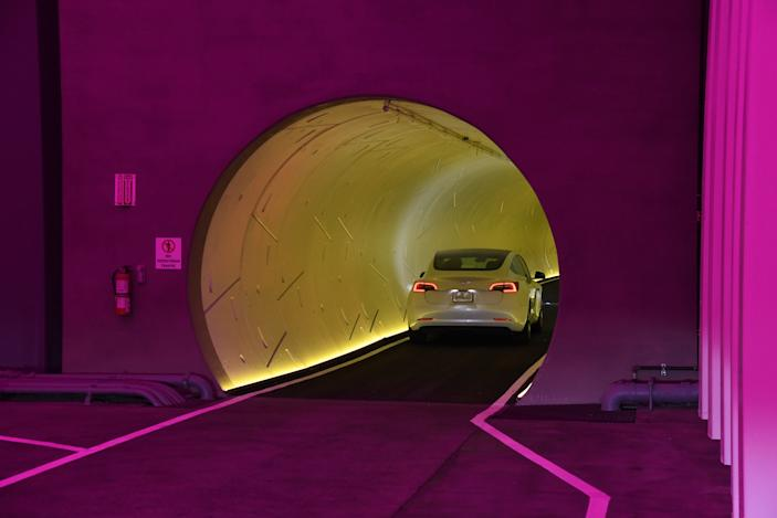 Elon Musk's Boring Company is reportedly pitching freight tunnels