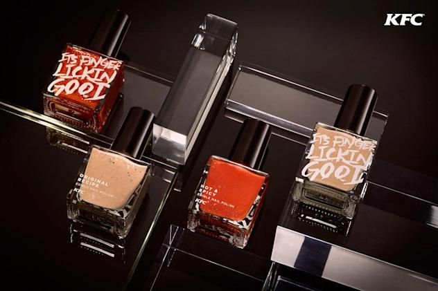 KFC-flavored nail polish gives new meaning to 'chicken fingers'