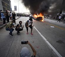 Protests — some of them turning violent — spread across U.S. in wake of George Floyd's death