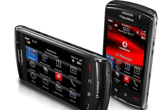 Vodafone puts BlackBerry Storm2 up for 26 October preorder