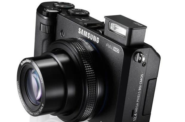 Samsung's Smart EX2F point-and-shoot now on sale for $500