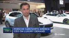 Porsche CEO: We very much believe in fair, open trade