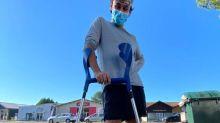 Skateboard - La chronique du skateur Vincent Matheron: blessé, son quotidien en rééducation à Capbreton