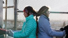 Women Braid Hair Together in Show of Solidarity at U.S.-Mexico Border