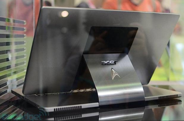 Acer shows off Aspire R7 Star Trek edition, we go eyes-on at Computex