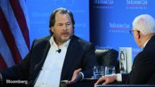 Benioff Says 'I Will Never Be a Politician'
