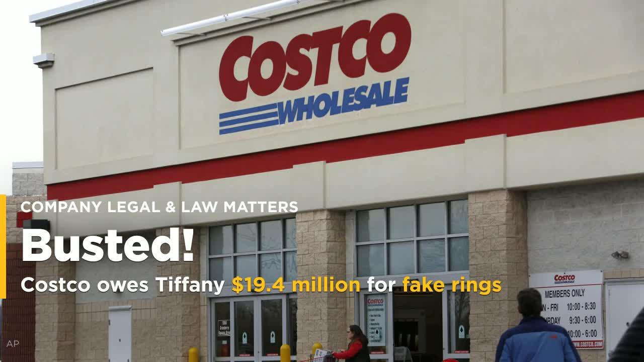 26e14490727b0 Costco owes Tiffany $19.4 million for fake Tiffany rings: U.S. judge [Video]
