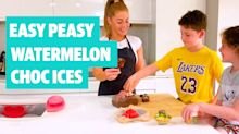 Easy Peasy: How to make watermelon choc ices