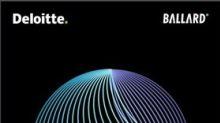 Deloitte-Ballard Joint White Paper Assesses Hydrogen & Fuel Cell Solutions for Transportation